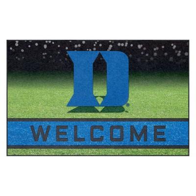 "NCAA Duke Blue Devils Crumb Rubber Door Mat 18""x30"""
