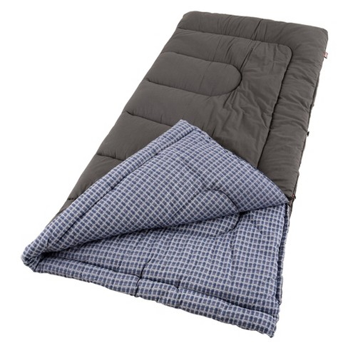 Coleman® King Size Cold Weather Sleeping Bag - Blue/Gray - image 1 of 1