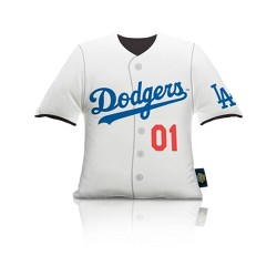 MLB Los Angeles Dodgers Jersey Plush Pillow