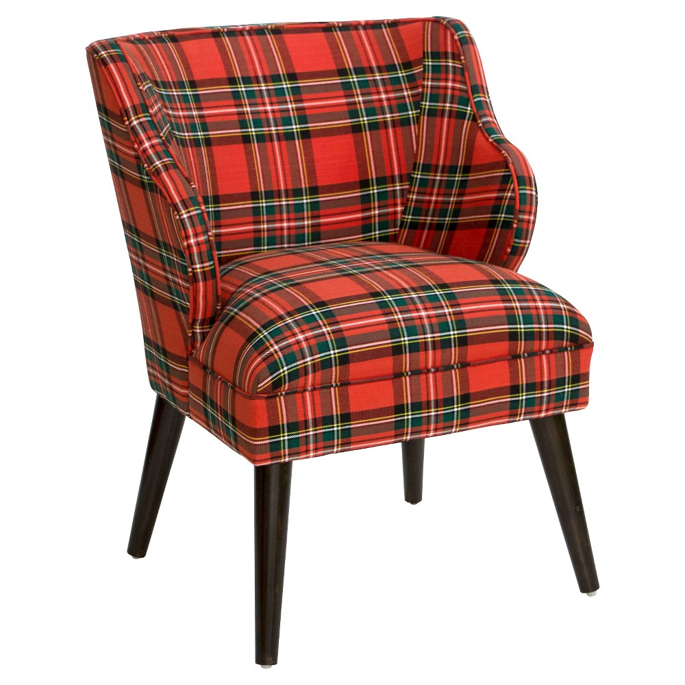 Skyline Furniture Upholstered Chair Red - Skyline Furniture