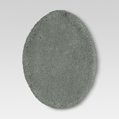Performance Solid Toilet Lid Cover Radiant Gray - Threshold™