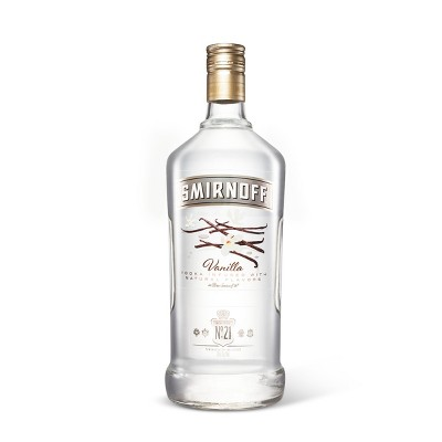 Smirnoff Vanilla Flavored Vodka - 1.75L Bottle