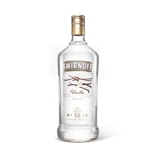 Smirnoff Vanilla Vodka - 1.75L Bottle - image 1 of 1