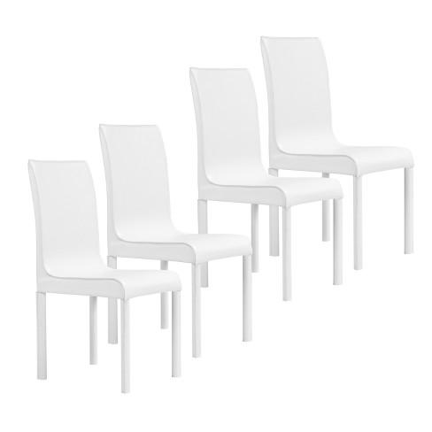 5 Pc Set Perriton Square Small Space Dining Set White - Aiden Lane - image 1 of 3