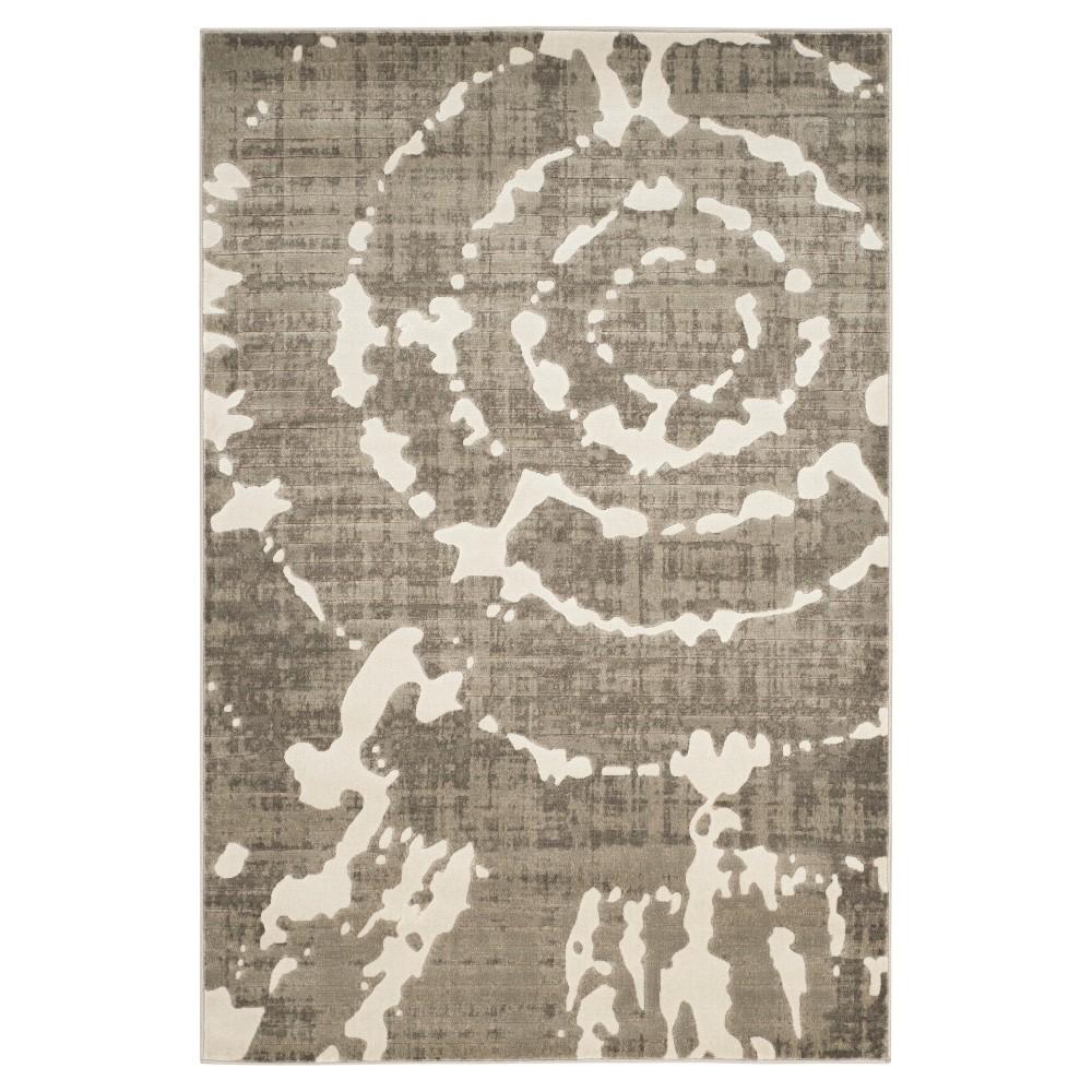 Wheaton Area Rug - Gray / Ivory ( 4' 1 X 6' ) - Safavieh, Gray/Ivory