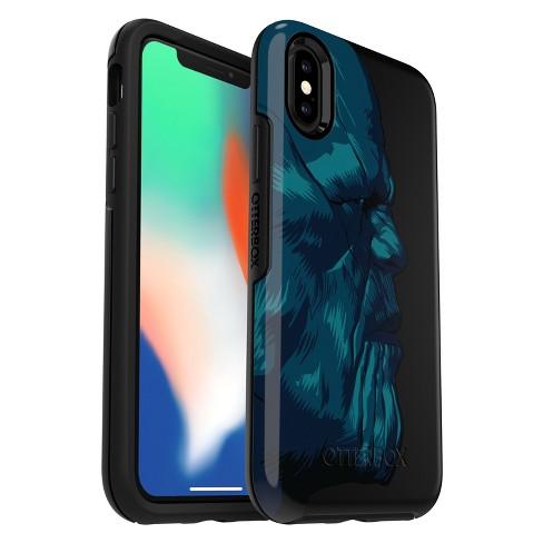reputable site 8e6c7 9bffc OtterBox Apple iPhone X Marvel Symmetry Case - Thanos