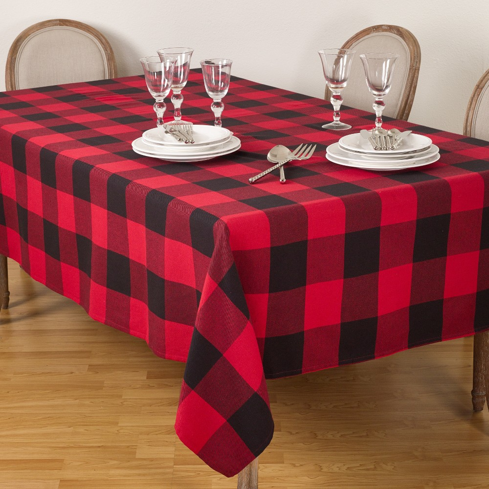 Tablecloth Red Saro Lifestyle