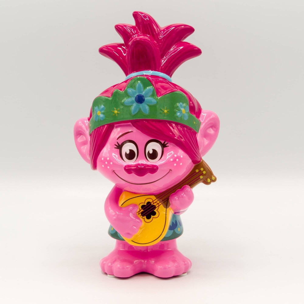 Image of Trolls World Tour Poppy Ceramic Bank