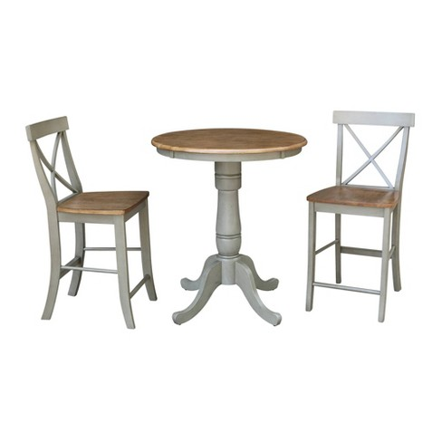 Counter Height Bar Stools Dining Sets, Round Gathering Table