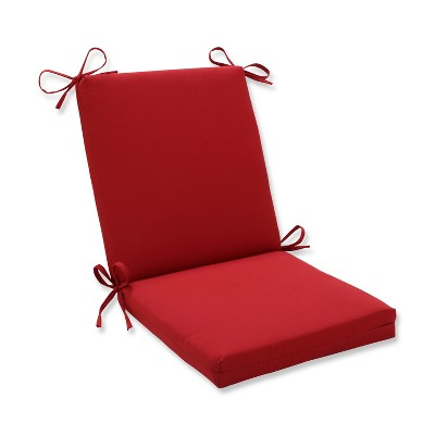 Outdoor Seat Pad/Dining/Bistro Cushion - Red