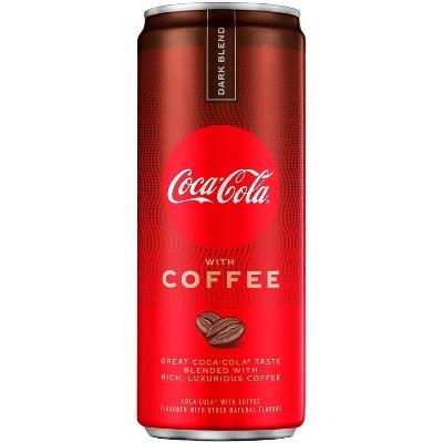 Coca-Cola with Coffee Dark Blend - 12 fl oz Can