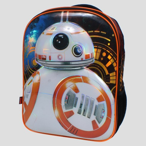 "Star Wars® BB8 16"" Kids' Backpack with Beanie and Lights - image 1 of 3"