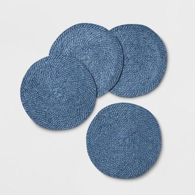 4pk Woven Placemat Blue - Opalhouse™
