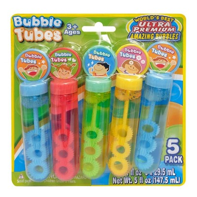 Amazing Bubbles Tube - 5pk