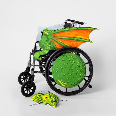 Kids' Adaptive Dragon Halloween Costume Wheelchair Cover with Headpiece - Hyde & EEK! Boutique™