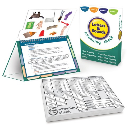 Junior Learning® Letters and Sounds - Screening Check - image 1 of 1