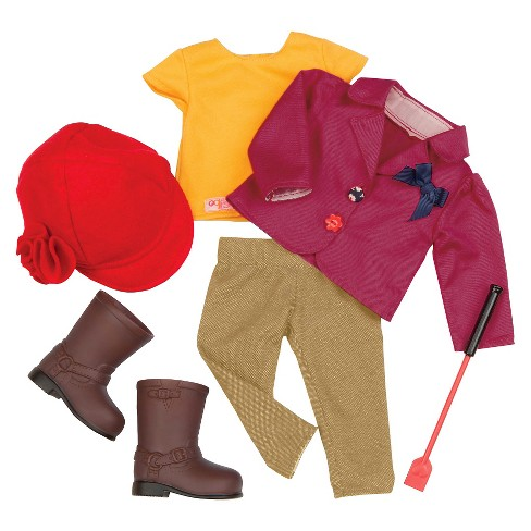 Our Generation® Deluxe Outfit - Ready to Ride™ - image 1 of 3