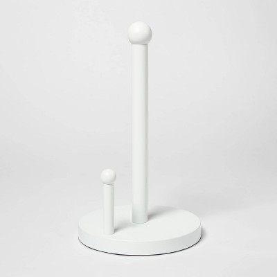 Stainless Steel Paper Towel Holder White - Threshold™