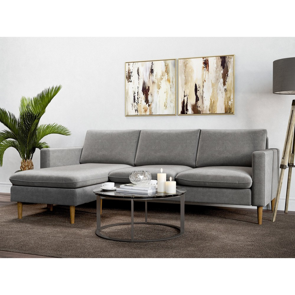 Cora Reversible Sofa Charcoal (Grey) - AF Lifestlye