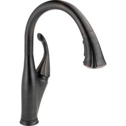 Delta Faucet 9192T-DST Addison Pull-Down Kitchen Faucet