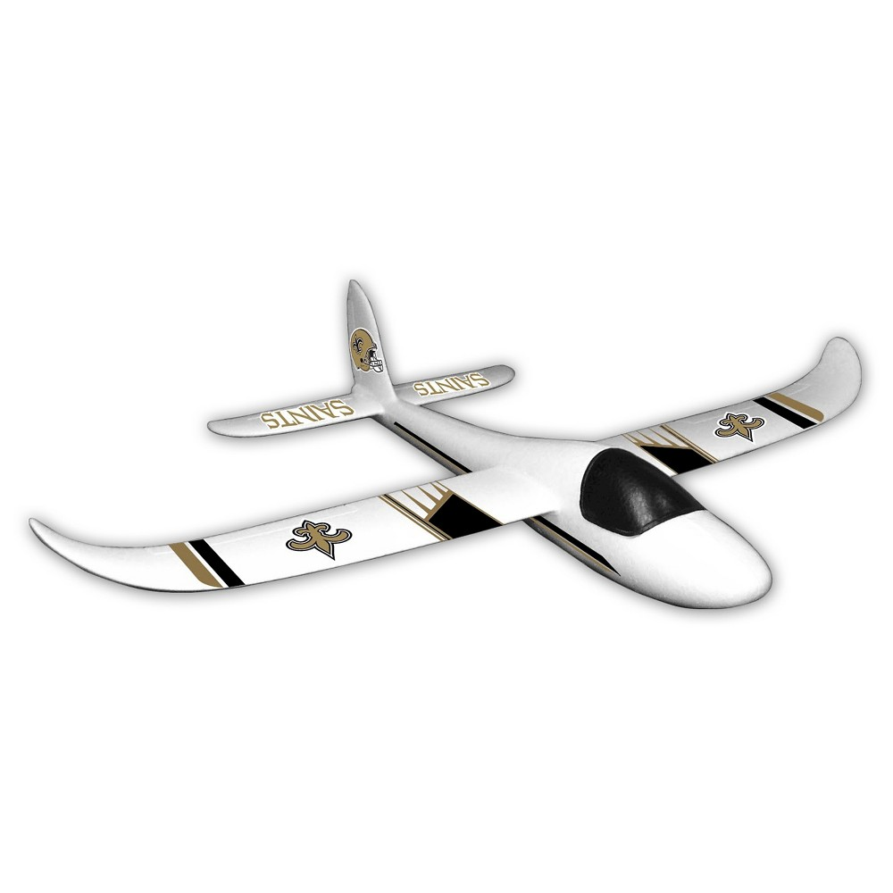NFL New Orleans Saints Sky Glider Foam Airplane, Multi-Colored