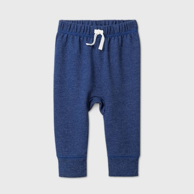 Baby Boys' Jogger Pull-On Pants - Cat & Jack™ Blue 0-3M