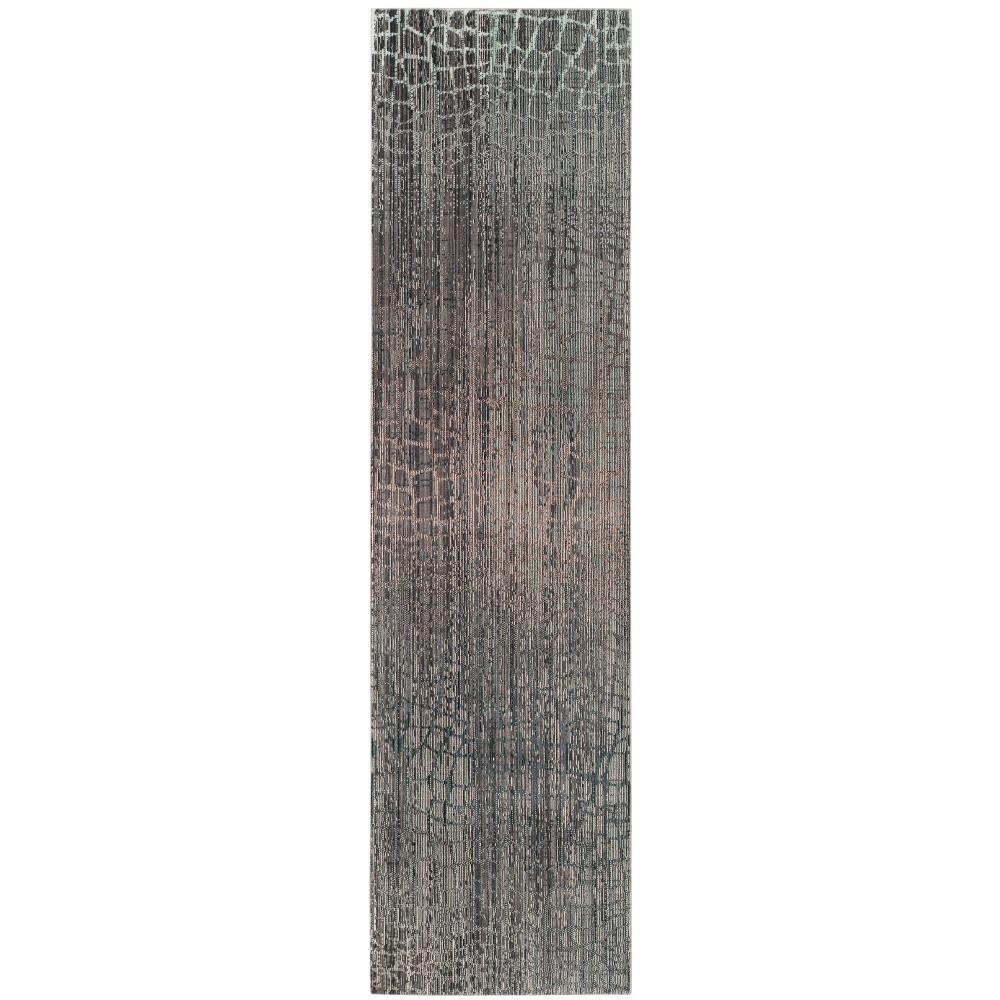 2'3X12' Loomed Ombre Design Runner Rug Gray - Safavieh, Gray/Multi-Colored
