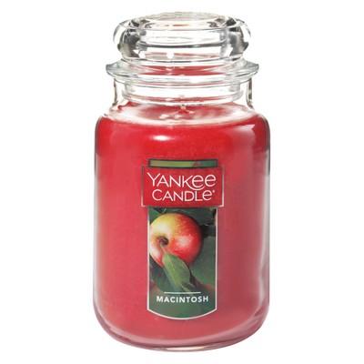 Yankee Candle 22oz Apothecary Jar - Macintosh