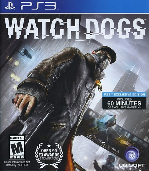 Watch Dogs PRE-OWNED PlayStation 3 - image 1 of 1