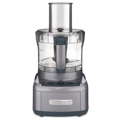 Cuisinart FP-8GM Elemental 8 Cup Food Processor - Gunmetal FP-8GMTG