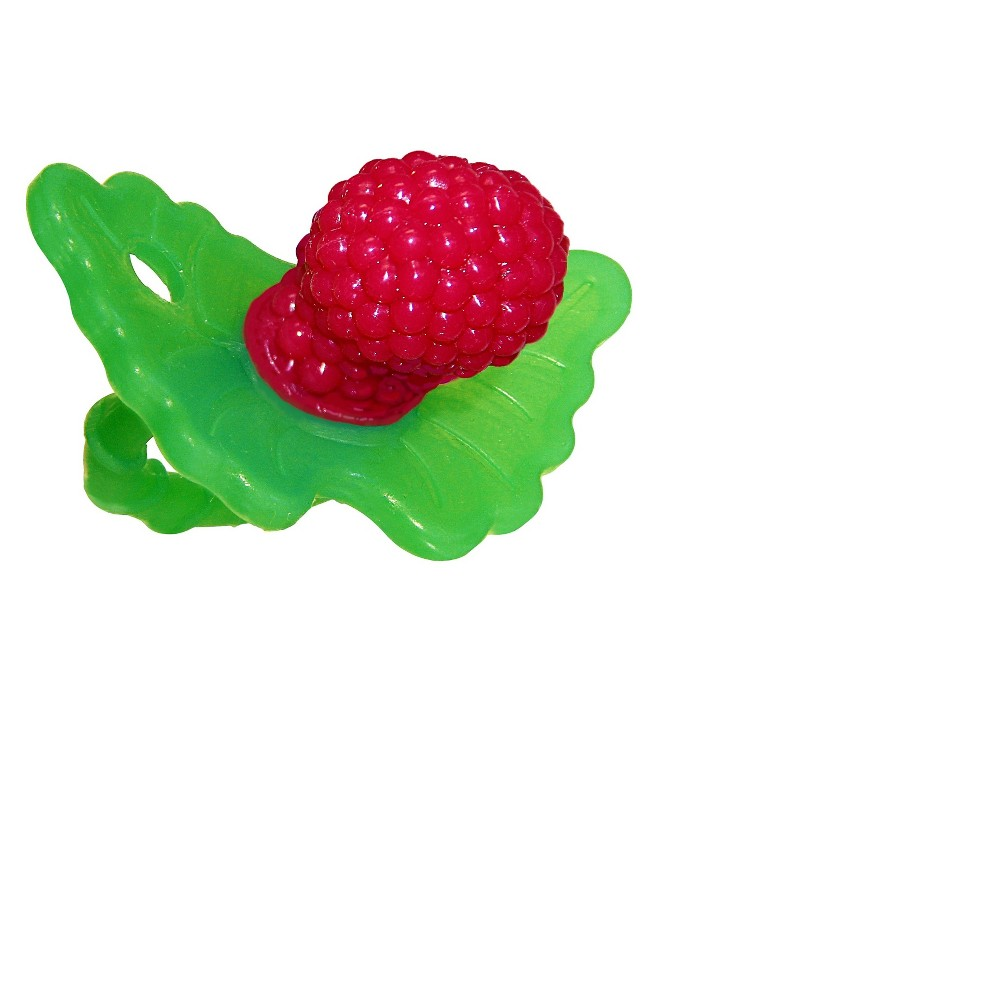 Image of Razbaby RazBerry Silicone Teether - Red