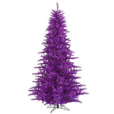 Vickerman Purple Fir Artificial Christmas Tree
