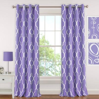 Emery Kids Blackout Window Curtain Panel - Elrene Home Fashions