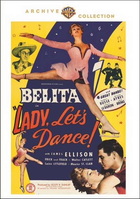 Lady let's dance (DVD) - image 1 of 1