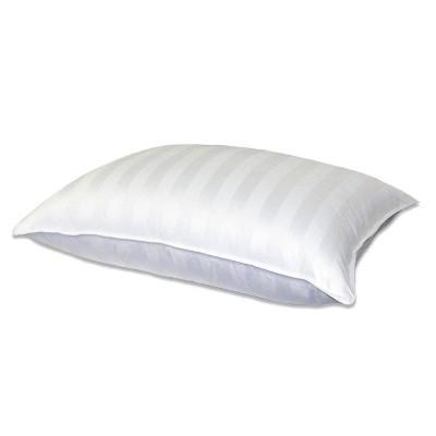 Supreme Cotton Damask Down Pillow White - Blue Ridge Home Fashions