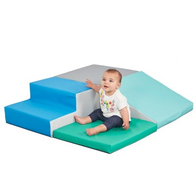 ECR4Kids SoftZone Little Me Foam Corner Climber - Indoor Active Play Structure for Babies and Toddlers
