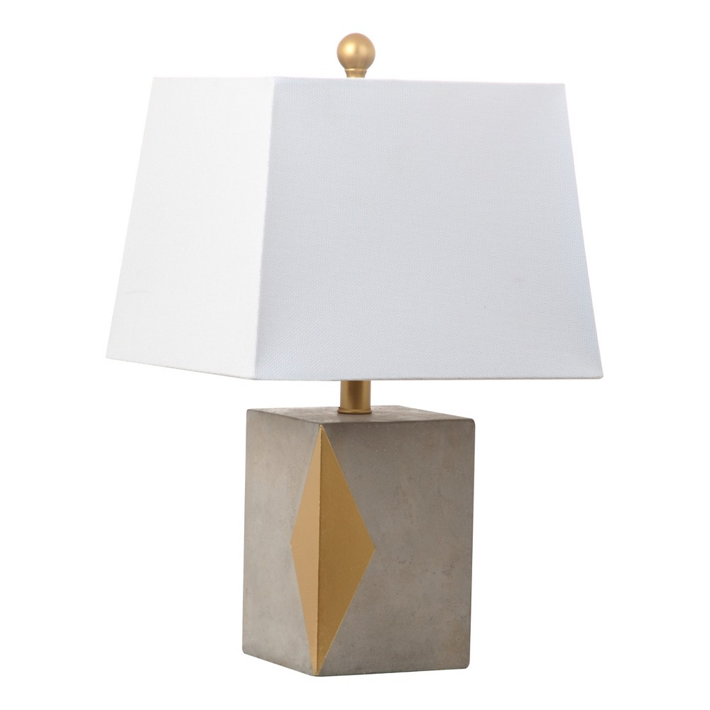 Royale Table Lamp Black (Includes Energy Efficient Light Bulb) - Safavieh
