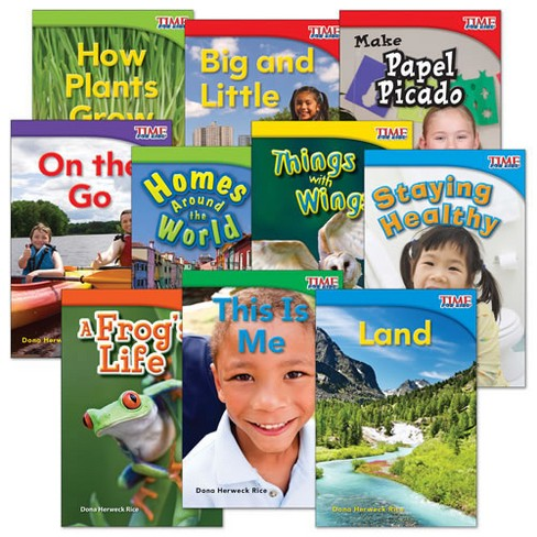 Shell Education TIME FOR KIDS Nonfiction Readers Grade 1 Set 1 - 10-Book Set - image 1 of 2