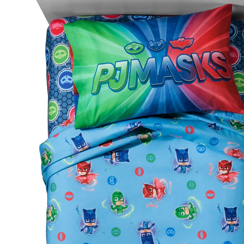 Image of PJ Mask Twin Sheet Set