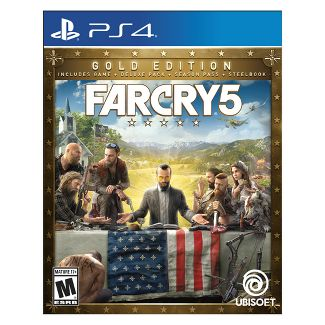 Far Cry 5: Steelbook Gold Edition - PlayStation 4
