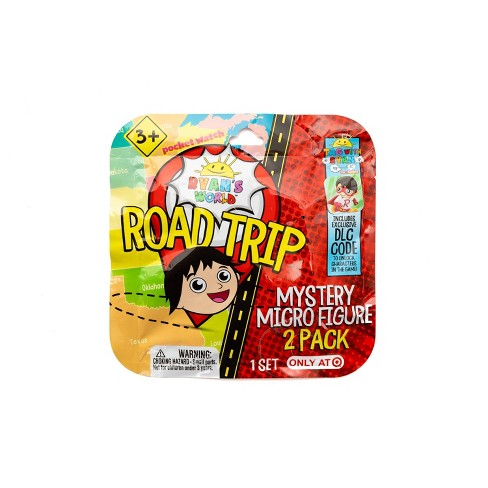 Ryan's World Road Trip Micro Mystery Figures - image 1 of 4