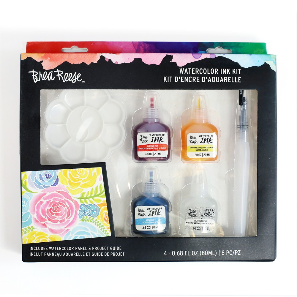 Image of Brea Reese 8pc Watercolor Ink Kit