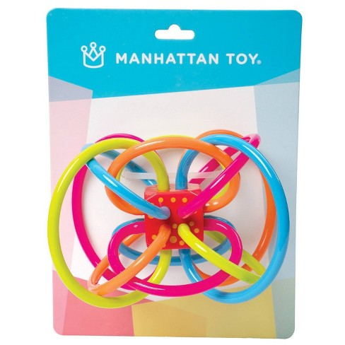 The Manhattan Toy Company Winkel Rattle & Sensory Teether Toy - image 1 of 4