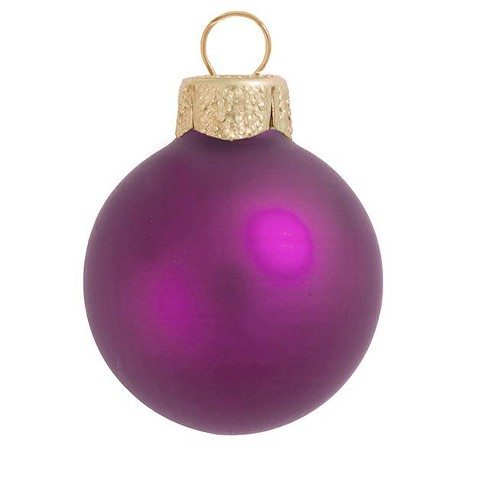 """Northlight 4ct Matte Glass Ball Christmas Ornament Set 4.75"""" - Soft Rose Pink - image 1 of 1"""