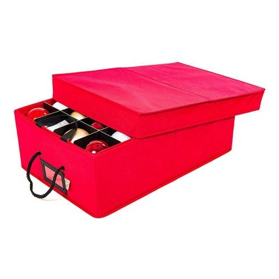 TreeKeeper 2 Tray Ornament Storage Box