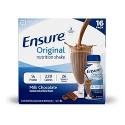 Ensure Original Nutrition Shake - Milk Chocolate - 16ct/128 fl oz Total