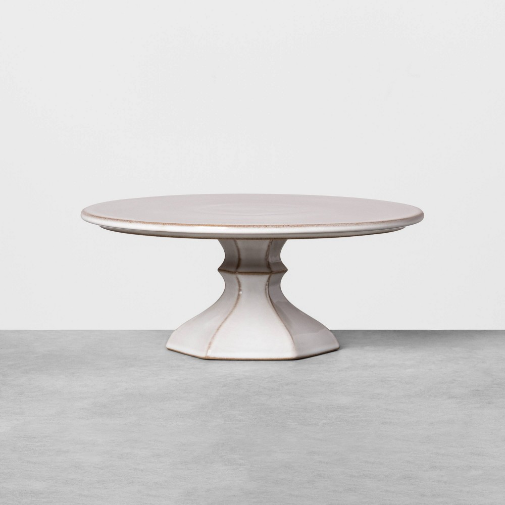 Image of Ceramic Cake Stand Small - Hearth & Hand with Magnolia