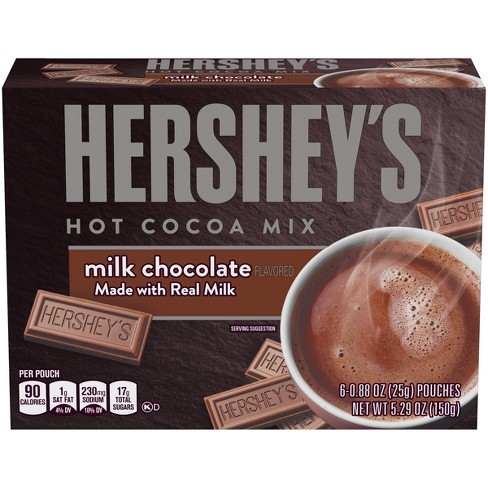 Hershey's Milk Chocolate Hot Cocoa Mix - 6ct/5.29oz - image 1 of 6