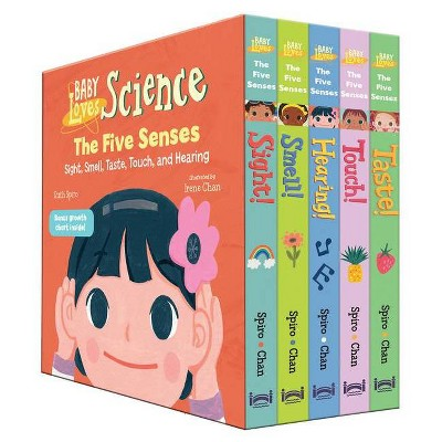 Baby Loves the Five Senses Boxed Set - (Baby Loves Science)by Ruth Spiro (Mixed Media Product)