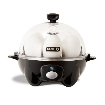 Dash 7-Egg Everyday Egg Cooker Black